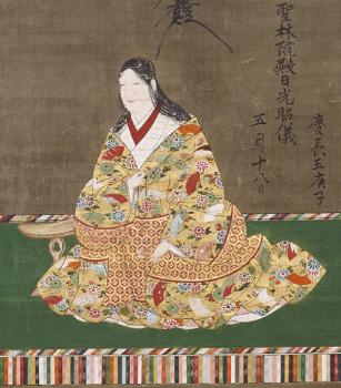 加藤清正母像(部分)